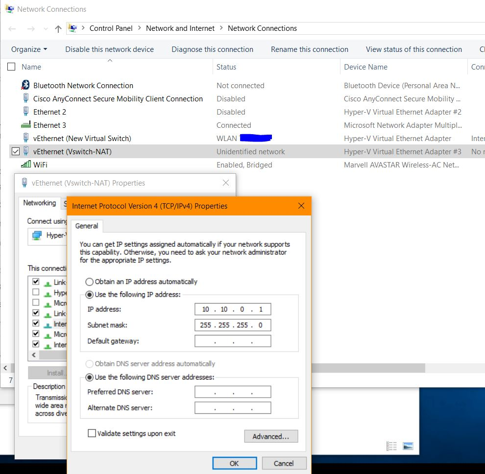 Hyper-V Virtual Switch Internal with NAT – The IT TeQnician