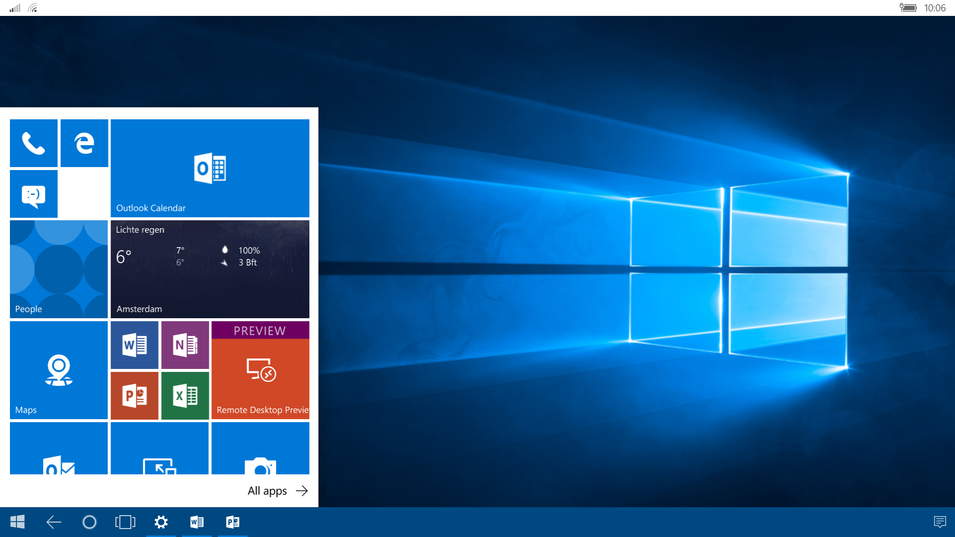 Windows 10 Mobile Continuum with Azure Remote App – The IT
